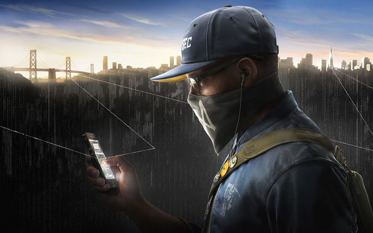 General 3840x2400 Watch_Dogs 2 Ubisoft Marcus Holloway video games