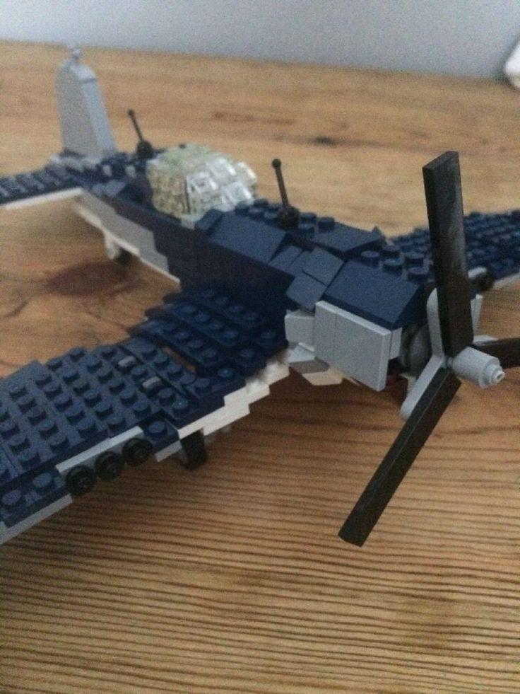 Lego Ww2 F4U Corsair Plane  #Lego