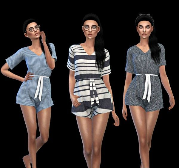 Leo 4 Sims: Dream romper • Sims 4 Downloads