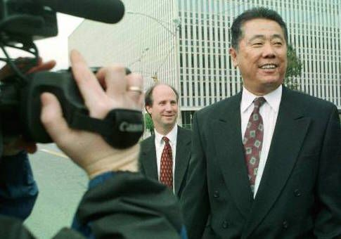 Chinese businessman accused of illegally funneling foreign money to the Democratic National Committee ahead of Bill Clinton's reelection in 1996 arrested for sneaking in 4.5 million dollars into the US