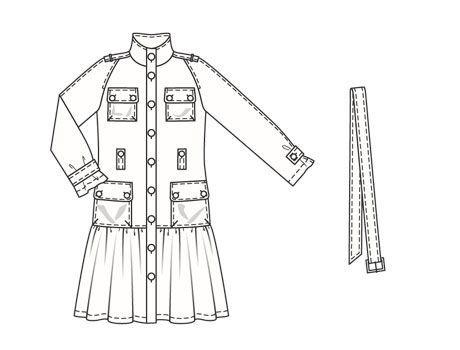 Burdastyle 02-2007-103 Trench coat, 36-44