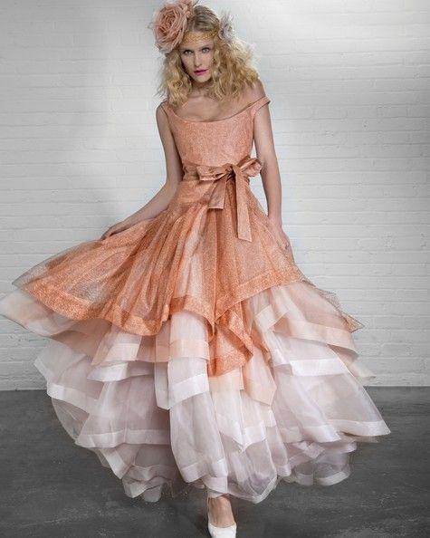 Vivienne Westwood, colour wedding dress