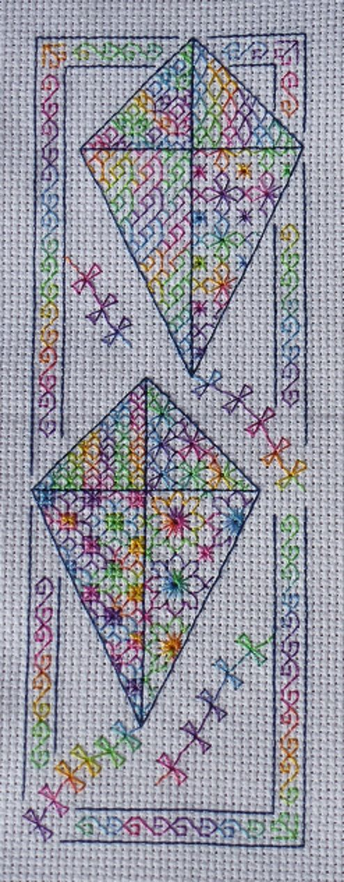 Black Work Embroidery Patterns