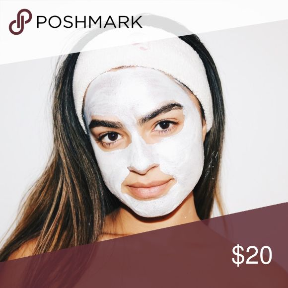 Glossier   Headband + 2 signature pouches! This listing is for Glossier's limited-edition headband--once sold in their merch category and no longer available online! Listing additionally includes two small pink Glossier signature pouches for a sweet set. Worn and washed once. See photos for wear--there is a gray mark on the top back/inside of the headband. No trades or off-Posh payment. Glossier Accessories Hair Accessories