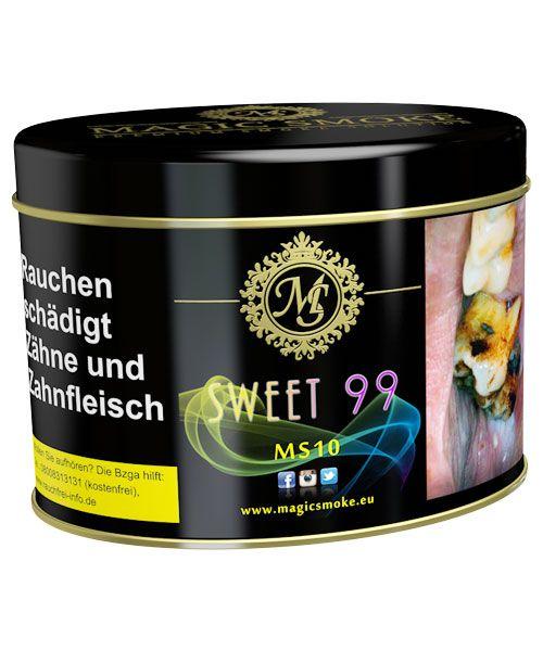 Magic Smoke 200g Sweet 99 im Relaxshop unter https://www.relaxshop-kk.de/magic-smoke-tabak-200g.html