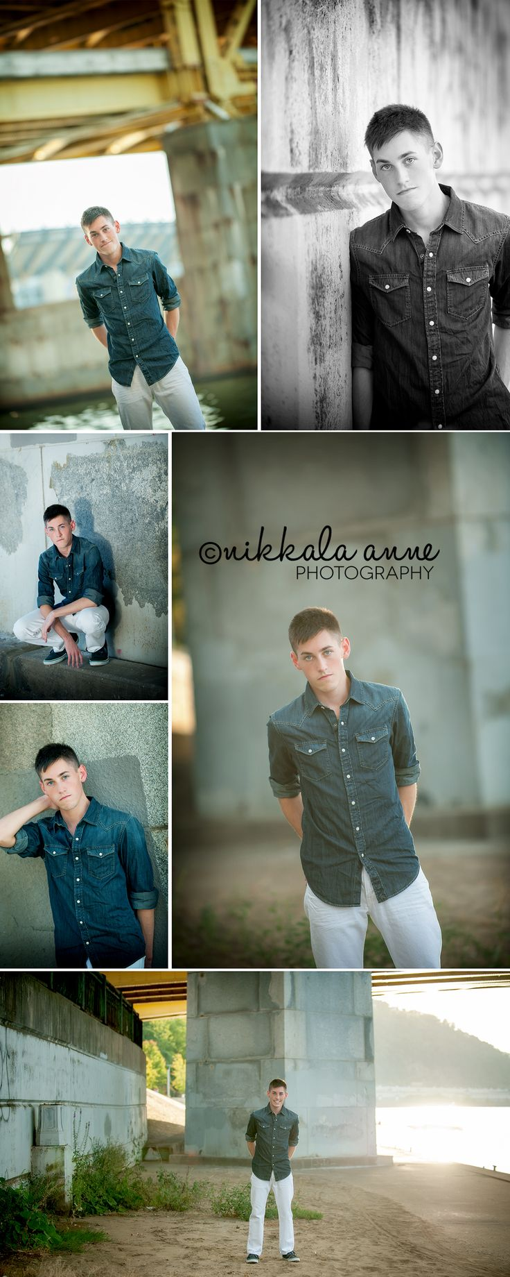 Pittsburgh senior | Justin | Nikkala Anne Photography pittsburgh senior photography photo session idea inspiration point state park bridge