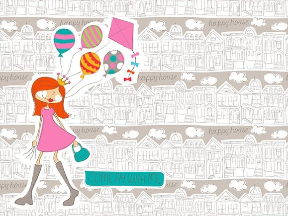 Wallpapers 2012   Happy House