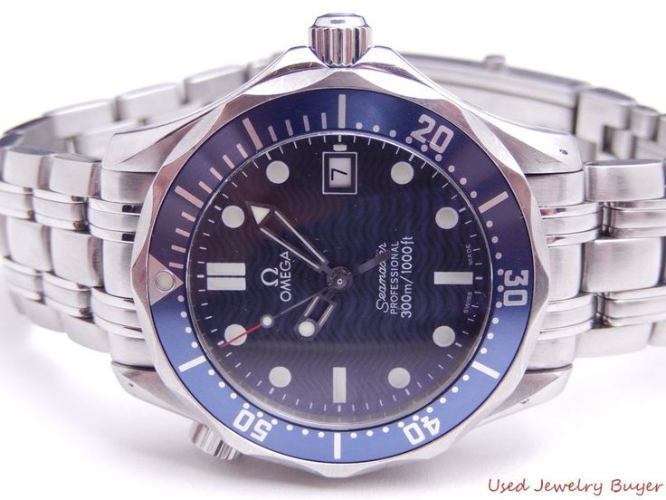 Omega Seamaster Professional James Bond Midsize Quartz Watch w/ Box 2561.80.00 #Omega #LuxurySportStyles