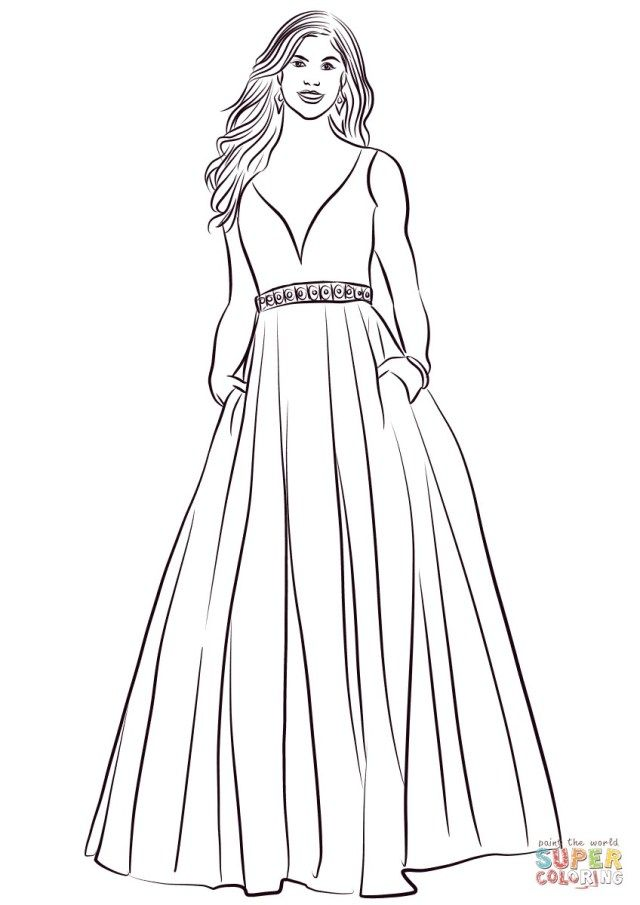 25 Creative Picture Of Dress Coloring Pages Entitlementtrap Com Coloring Pages Princess Coloring Pages Wedding Dress Drawings