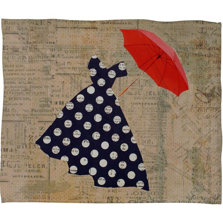 Red Umbrella Art - Valentine's Umbrella Gift Ideas for Lovers