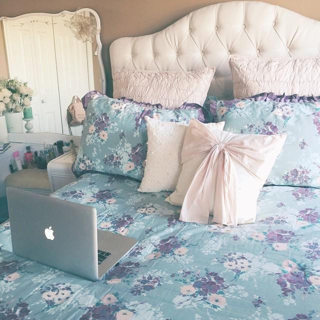 lc lauren conrad bouquet bedding u003c3 my room