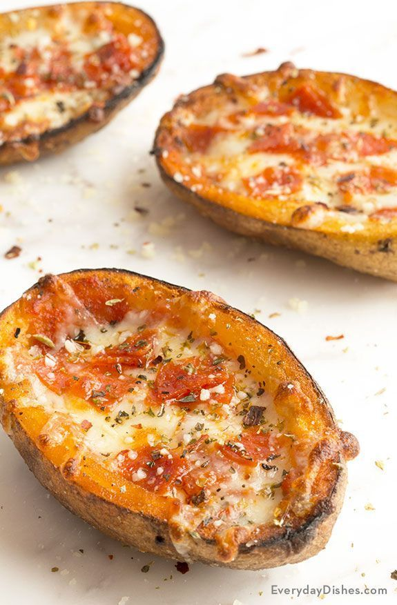 Pizza Potato Skins Recipe