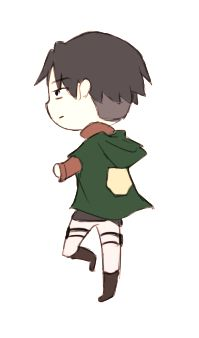 Levi spinning, THAT IS THE CUTEST THING OTHER, TELL ME IT'S NOT. I DARE YOU.<<<<<< it's not.......... IT'S KAWAII!!!!!!
