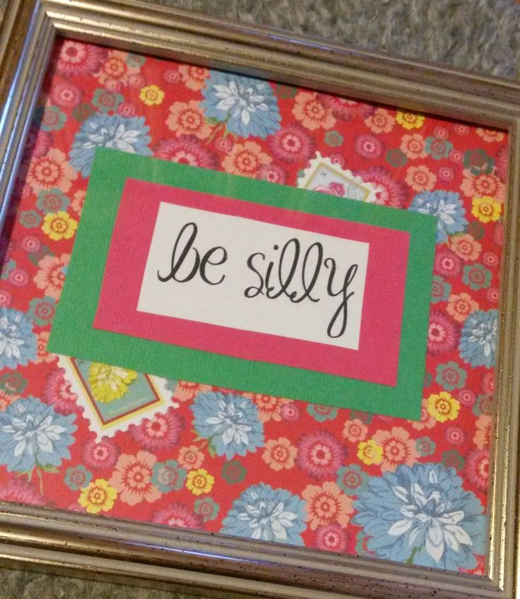 More fun framed happy art from my Easy.com shop! See link in information.