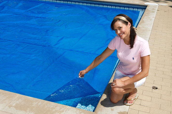 Solar Pool Covers Help Retain Heat And Eliminate Premature