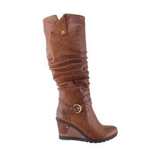 Susst Long Boot on Wedge Heel at www.pamelascott.ie