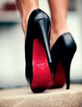 Someday, red bottom Loubutin heels. Someday we will be together....