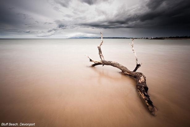 Bluffs Beach Tasmania