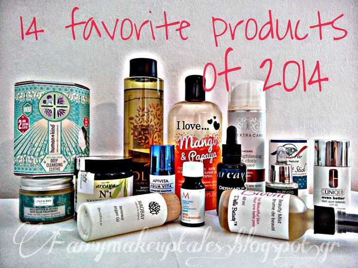 Fairy make-up tales . . . . : 14+1 Favorite Products of 2014!
