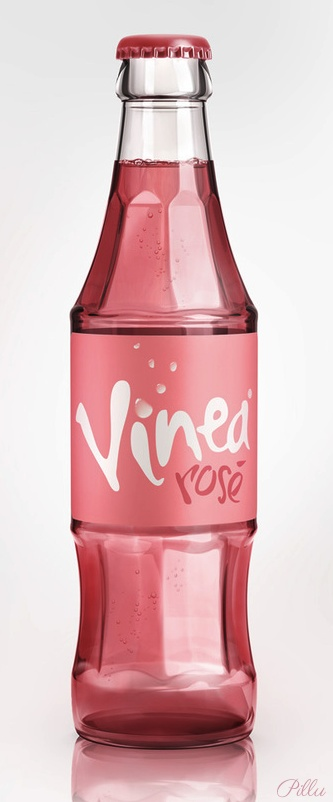 Vinea Rose-an unique table drink in Slovakia/3d artwork