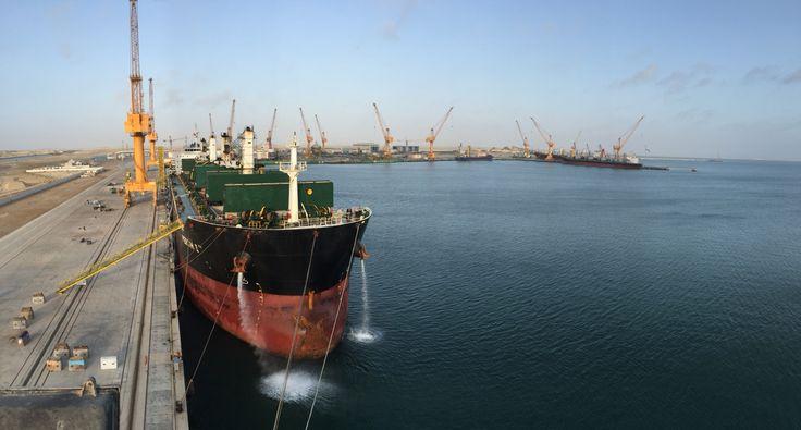Oman Drydock Shipyard view