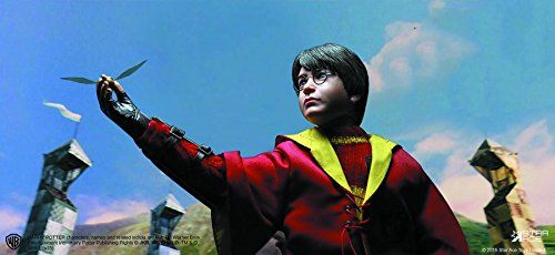Star Ace Toys Harry Potter & The Chamber of Secrets: Harry Potter Quidditch Version Action Figure (1 @ niftywarehouse.com #NiftyWarehouse #HarryPotter #Wizards #Books #Movies #Sorcerer #Wizard