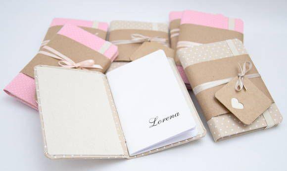 10 mini cadernos p/ lembrancinha