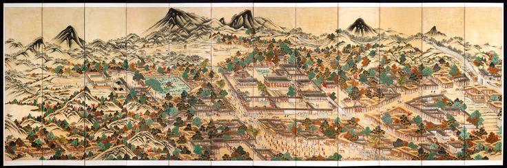 경기감영도, 京畿監營圖, Gyeonggigamyeongdo, 19th century, Chosun