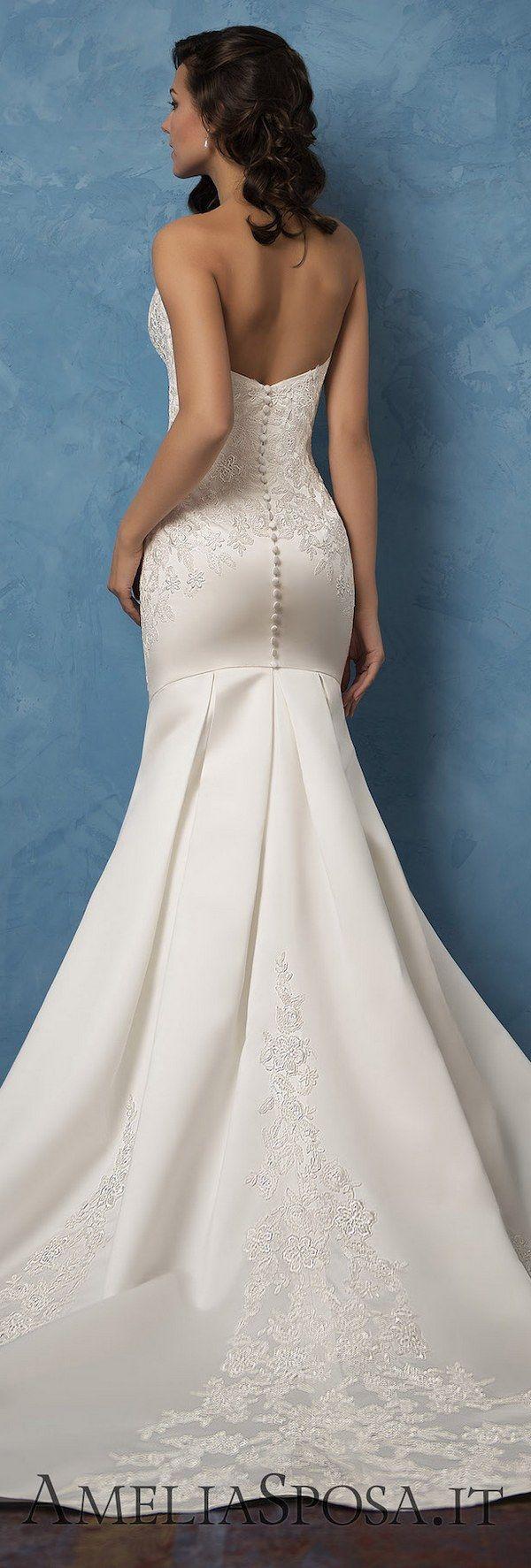 Amelia Sposa 2017 Wedding Dresses - Page 2 of 5 - Deer Pearl Flowers / http://www.deerpearlflowers.com/amelia-sposa-2017-wedding-dresses/2/