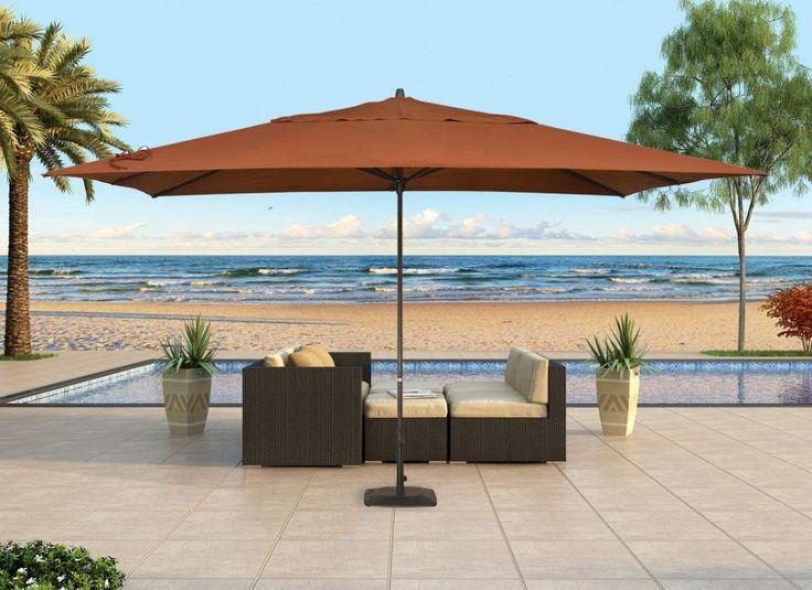 Rectangular Patio Umbrella Rectangular Patio Umbrella   House Designs