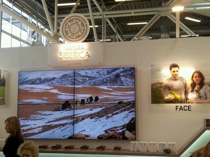 Natura Siberica en Cosmoprof 2013