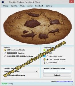 Cookie clicker Hack Tool Cheat 2016 tool download. With updated Cookie clicker Hack Tool you will have just fun. Try Cookie clicker Hack Tool tool. Cookie clicker Hack Tool working with last update.