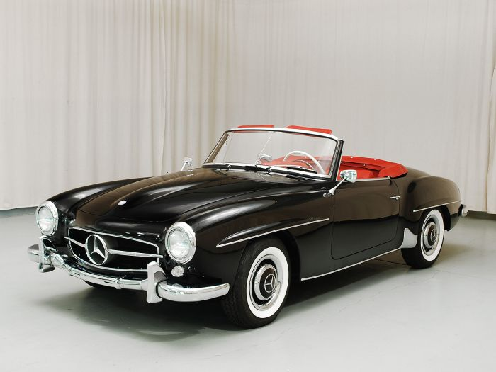 MY DREAM CAR!!!  1959 Mercedes-Benz 190SL Convertable