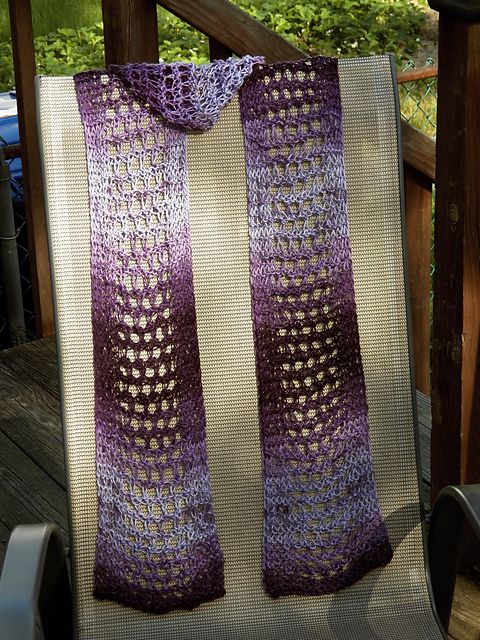 Loom Knit - Ravelry - The Catherine Lacy Scarf.  Gorgeous!