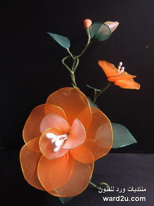 stockings flowers