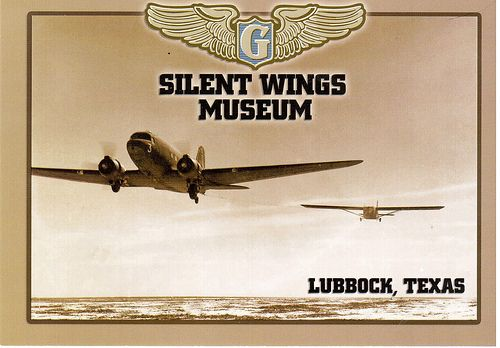 Postcrossing US-2089915 - Card from the Silent Wings Museum in Lubbock, Texas, where I used to work. This museum honors the Glider Pilots of World War II. Sent to a group of Postcrossers in the United States.