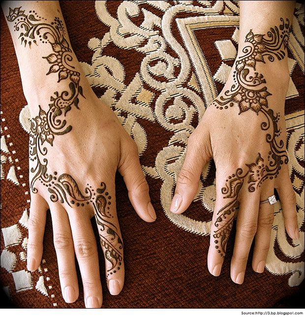 Top 18 Latest Arabic Mehndi Designs for Hands - 2014