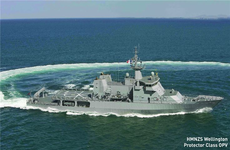 Pv85 Protector Class Opv New Zealand Navy 85 Metres 1 500