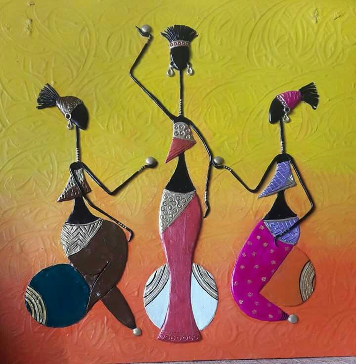 1227 best african painting murals images on pinterest african african paintings african art sand painting mural art murals mural ideas glass paint clay art ganesha sciox Image collections