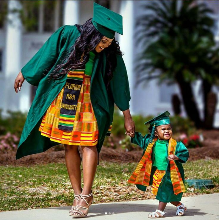 """#MomMonday: """"The long nights up studying was for her, the rushing to make it to class on time was for her, so this diploma in reality is for her.""""- Rae, proud mother and soon-to-be graduate of Florida Agricultural and Mechanical University  <3!  #becauseofthemwecan"""