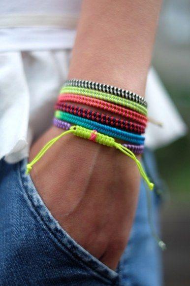 fishtail bracelets   what i do