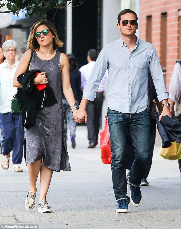 Still loved-up: Sophia Bush confirmed she was still in a relationship with her Chicago P.D...