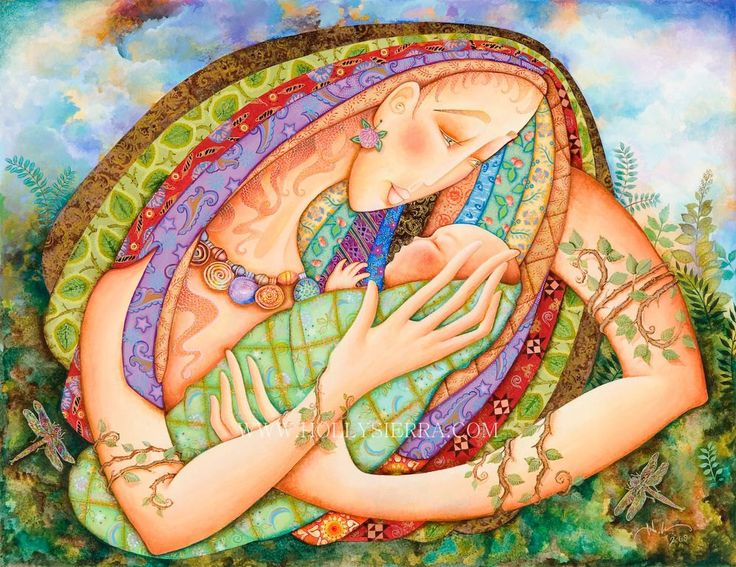 Madre Natura FOR MOTHERS DAY Mother Earth by HollySierraArt <3 this