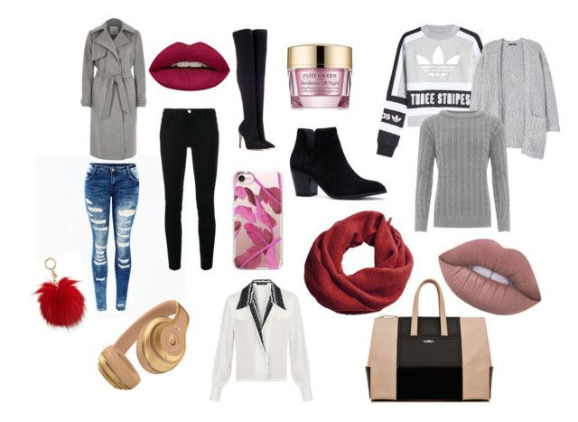 """""""Untitled #8"""" by iina-lavikainen on Polyvore featuring adidas Originals, MANGO, Michael Kors, River Island, WearAll, Frame, Gianvito Rossi, La Perla, Estée Lauder and Casetify"""
