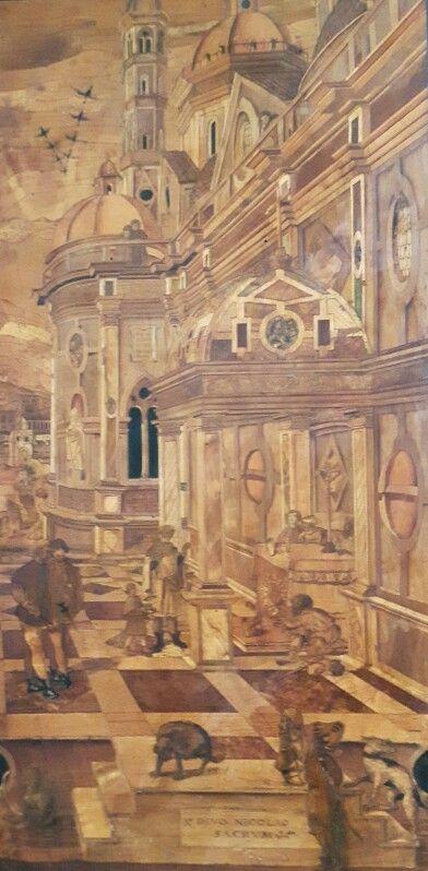 Coro Intarsiato.  Frate Domenico Zambelli.  1529-1550