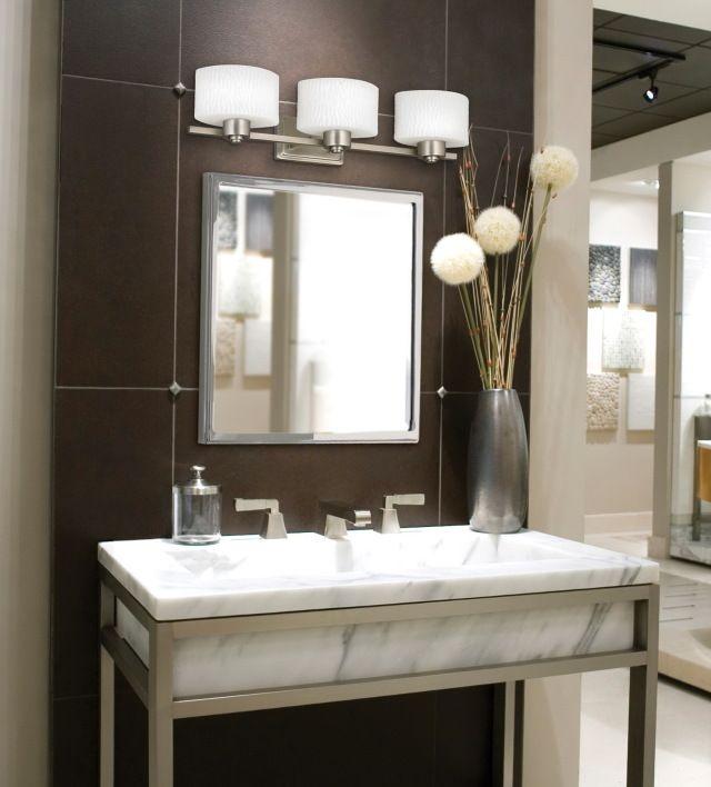 Image Result For Overhead Vanity Lighting Pics Industrial Bathroom Decor Light Fixtures Bathroom Vanity Bathroom Mirror Lights