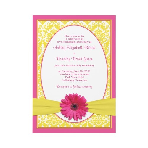 136 Best Gerbera Daisy Wedding Theme Images On Pinterest
