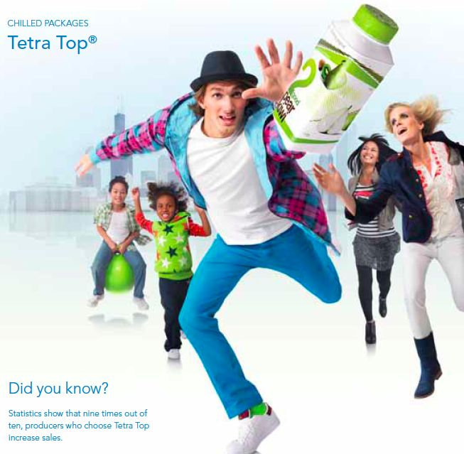 9 times out of 10, producers choosing Tetra Top increase their sales.