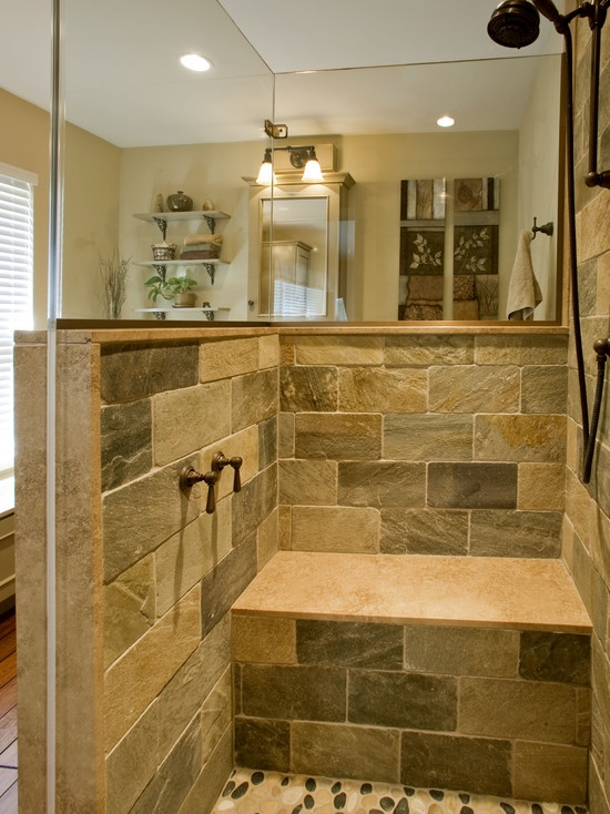 Spaces rustic bathrooms design pictures remodel decor - Bathroom design small spaces pictures ...