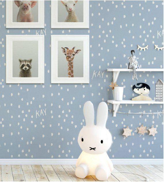 AFFILIATELINK | Tapete KRATZIG DOT – einzigartiges Design – Premium-Quali …   – Kinderzimmer | DIY, Deko & Einrichtung